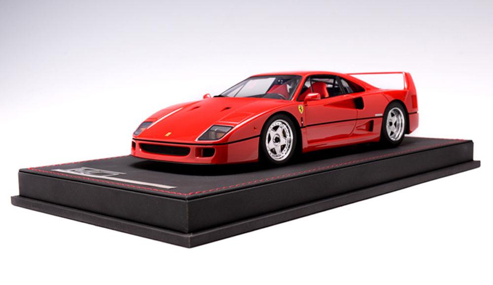 1 18 Ferrari F40 Rosso Corsa Red Ab Models